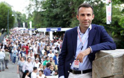 Salone dell'auto: Andrea Levy parla a Torino e ai torinesi