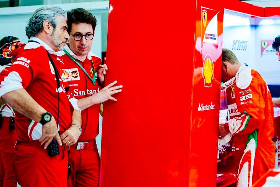 Arrivabene a caldo nel post-GP del Belgio