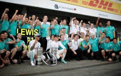 Titolo Costruttori per Mercedes in Malesia?