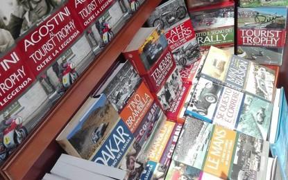 Libreria dell'Automobile a Monza durante il GP
