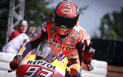A Brno quinta pole della stagione per Marquez
