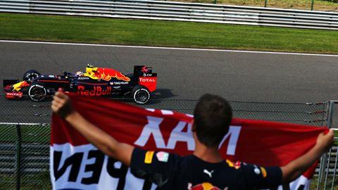Verstappen: a Spa un altro passo nella storia