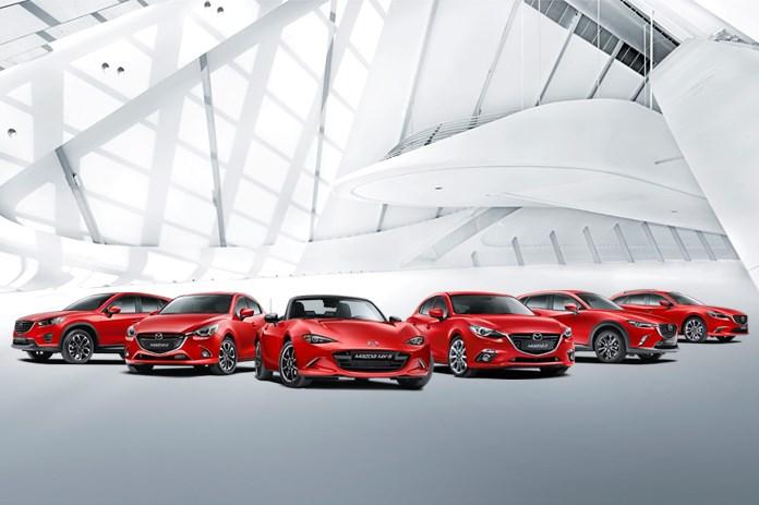 Mazda festeggia il 2016 sfiorando quota 11mila