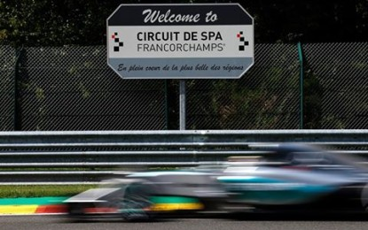 GP Belgio: la griglia di partenza