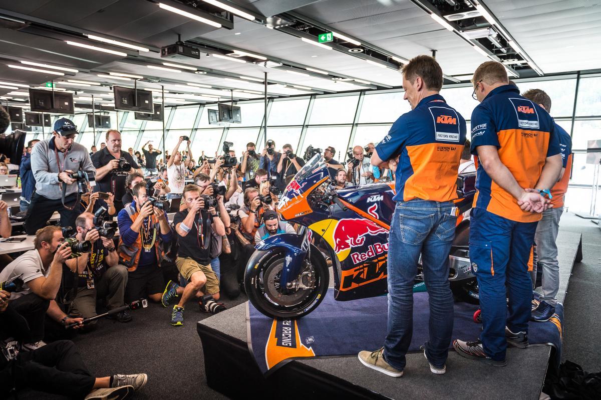 MotoGP: ecco la KTM RC16