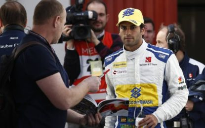 Nasr admits he could lose F1 seat
