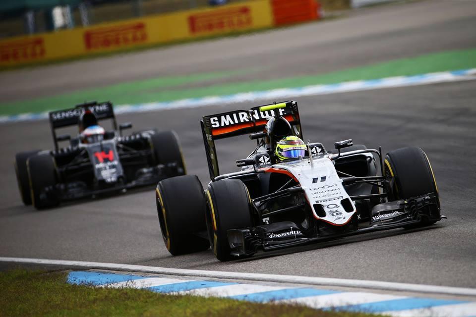 Perez potrebbe lasciare la Force India a fine 2016