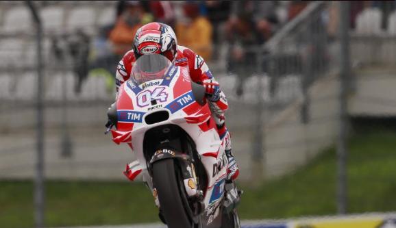 MotoGP: venerdì nel segno Ducati. Rossi 4°. Marquez 10°