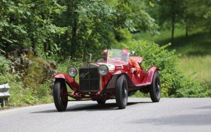 Alfa Romeo 6C 1500 Super Sport al Gran Premio Nuvolari