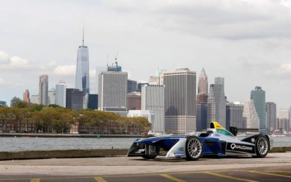 Formula E: location e layout del primo New York City ePrix