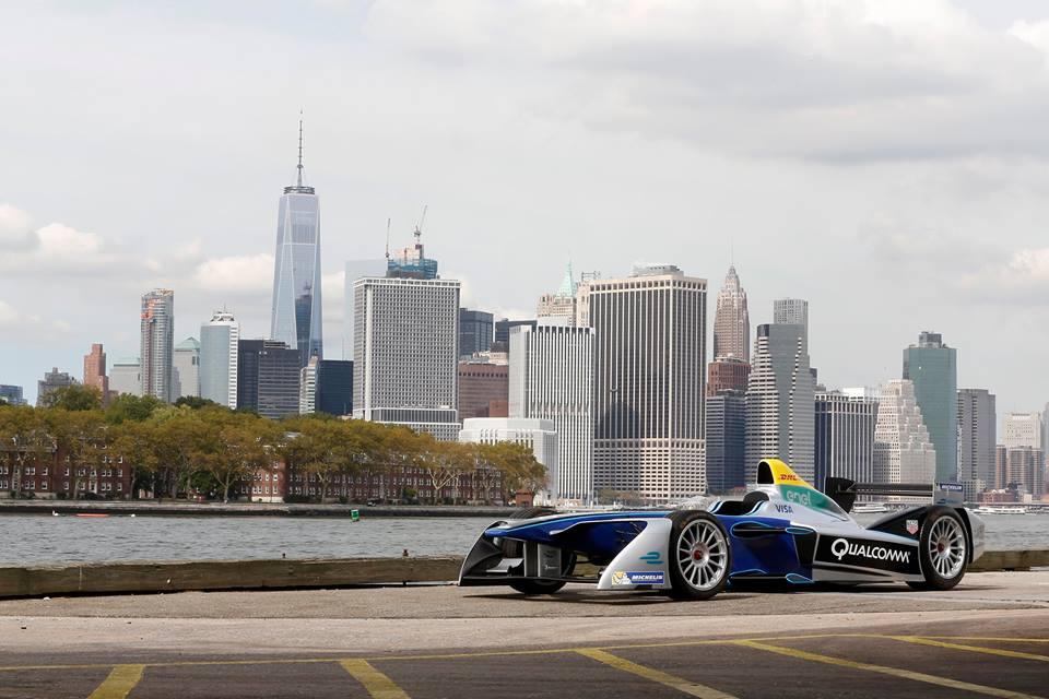 Formula E: location e layout del primo New York City ePrix