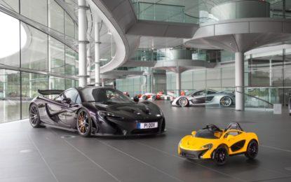 """McLaren P1 in versione """"pure electric"""""""