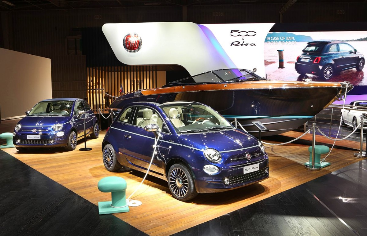 "Fiat 500 Riva ""Tender to Paris"""