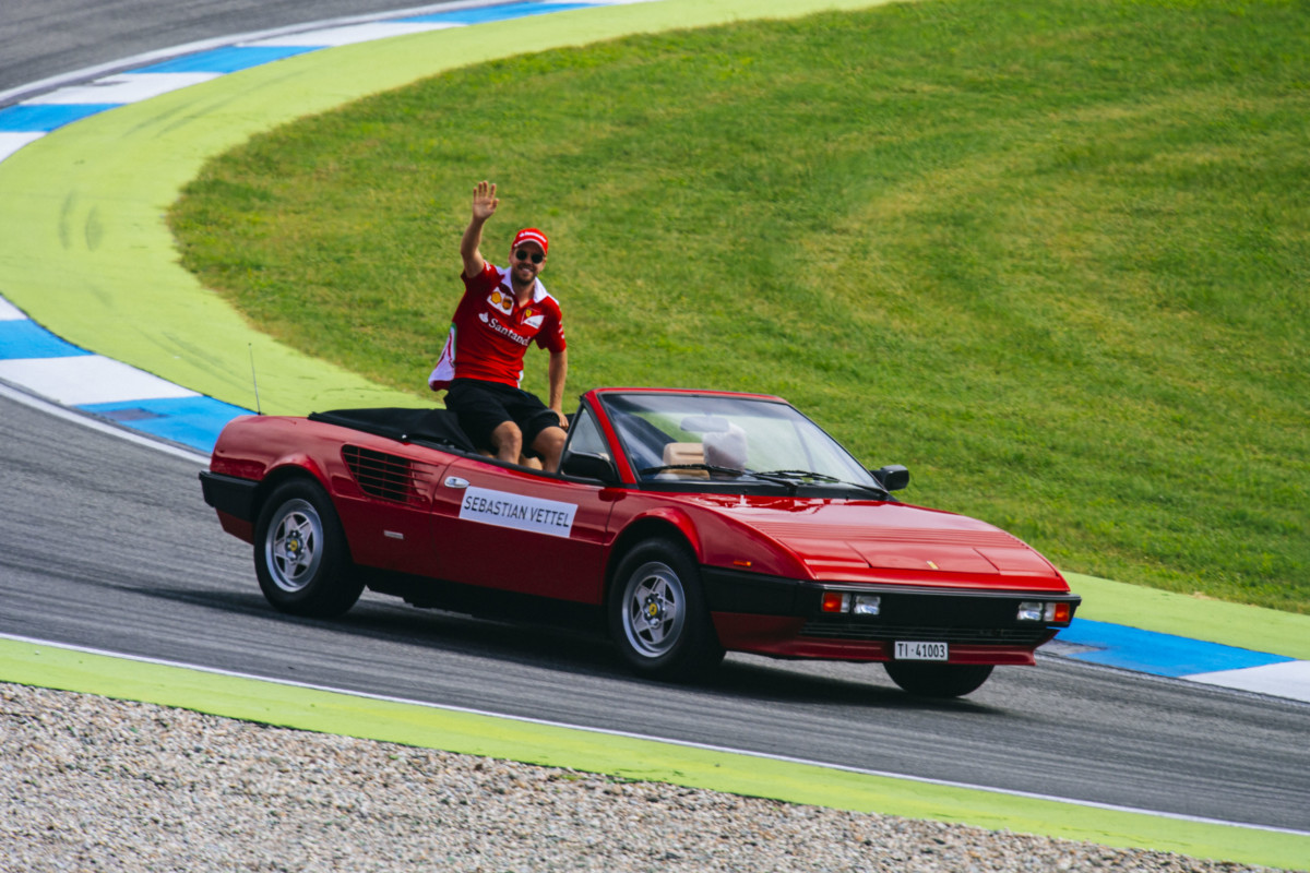 Ferrari Racing Days a Hockenheim con Vettel