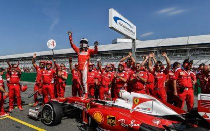 Ferrari Racing Days: Vettel infiamma Hockenheim
