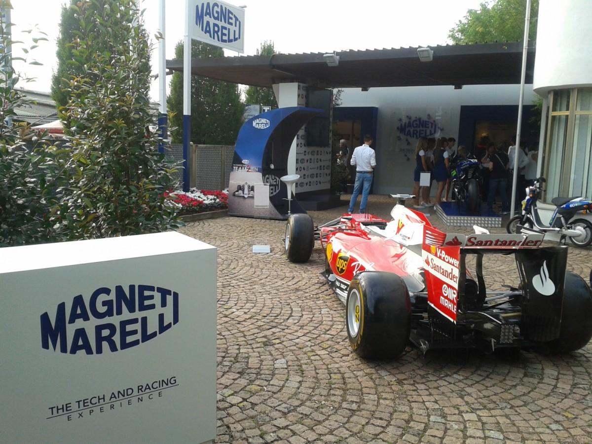 Magneti Marelli: tecnologie in esposizione a Monza