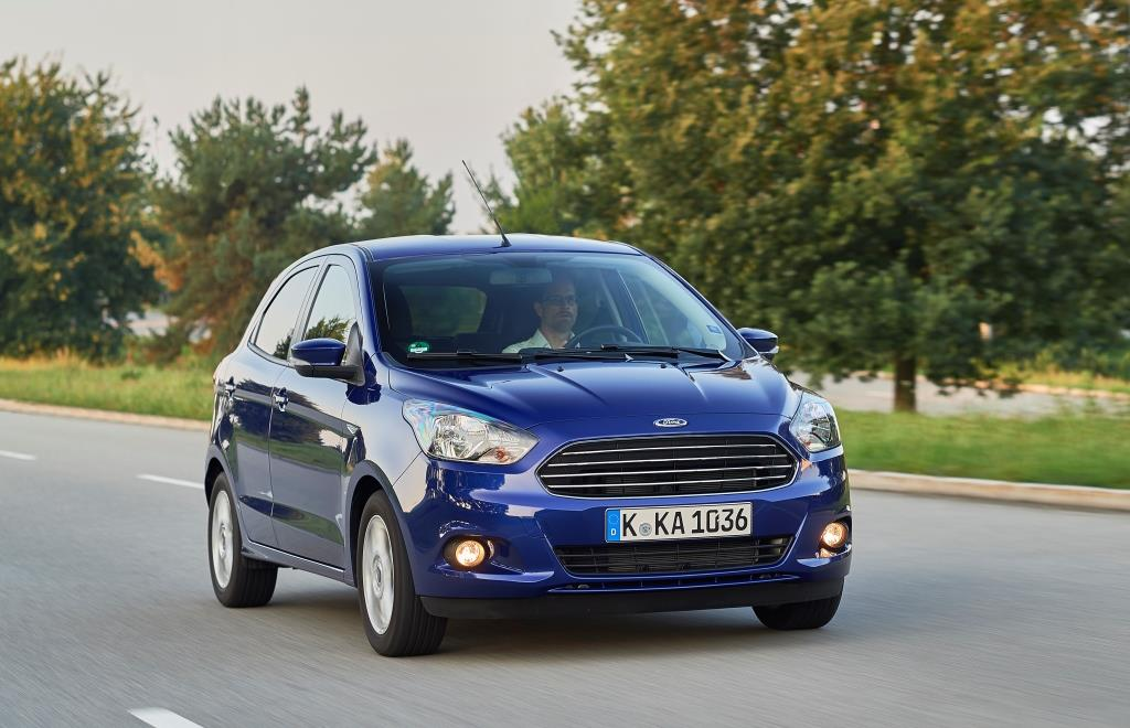 Nuova Ford KA+ : spazio, efficienza e divertimento