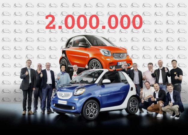 smart: il bestseller supera quota 2 milioni