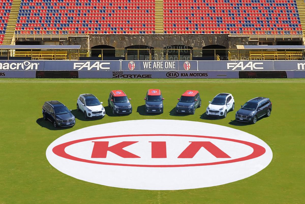 Kia premium partner del Bologna Calcio