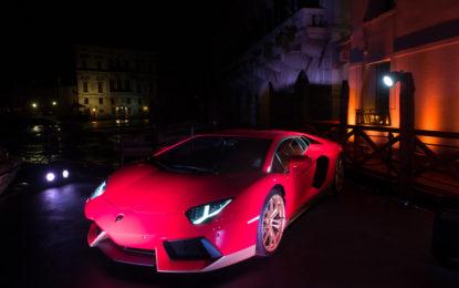 Lamborghini e L'Uomo Vogue a Venezia