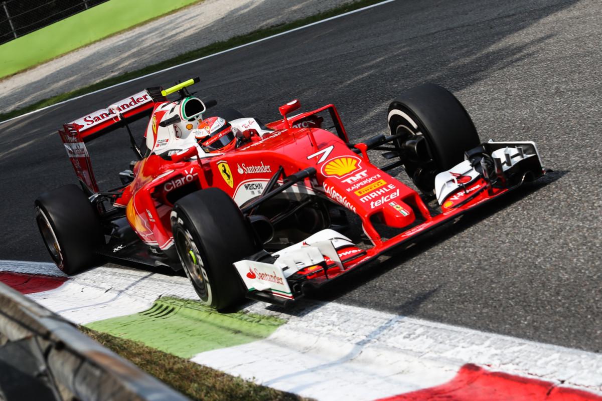 GP Italia: nel venerdì di Monza, 3° e 4° le Ferrari