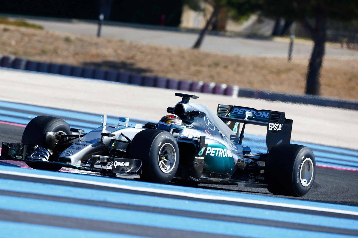 Wehrlein al Paul Ricard per i test Pirelli 2017