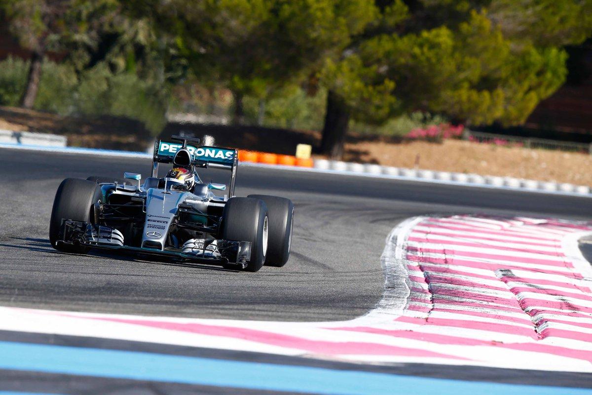 Conclusi i test Pirelli 2017 e Mercedes al Paul Ricard