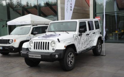 Jeep Wrangler tatuata all'Italian Tattoo Artists
