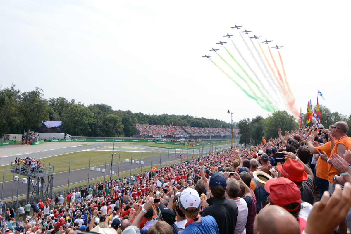 Monza: i numeri ufficiali del GP d'Italia 2016