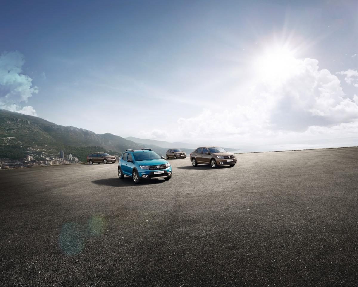 Dacia a Parigi con Sandero, Sandero Stepway e Logan MCV