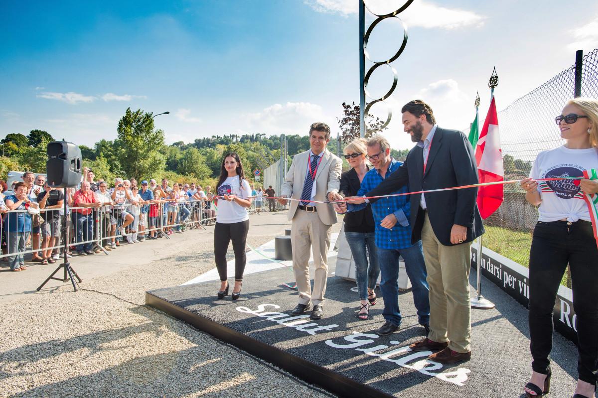 A Imola inaugurato il Memoriale a Gilles
