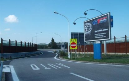 In autostrada con GT Radial