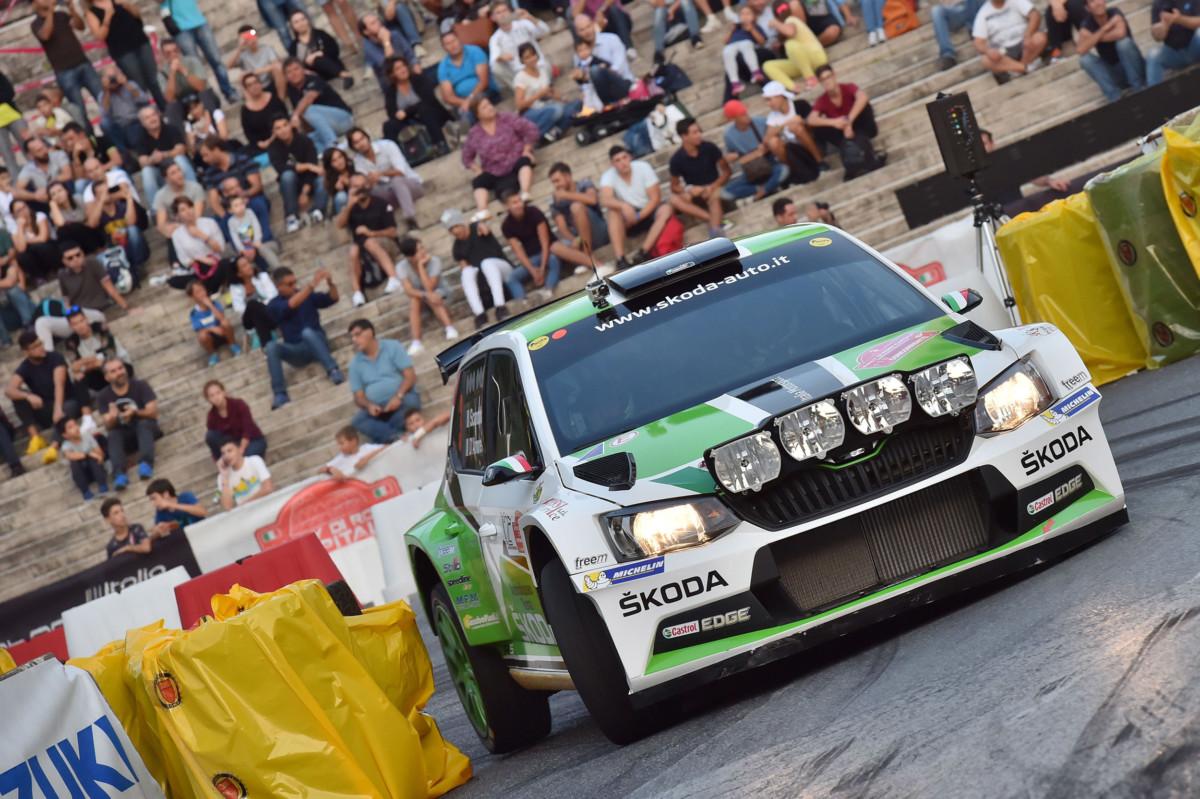 ŠKODA e Scandola-D'Amore vincono il Rally di Roma