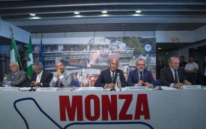Monza presenta il GP. Ma la firma ancora non c'è