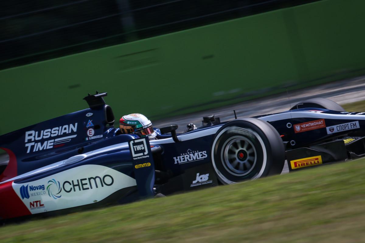 GP2: Marciello sul podio anche a Monza