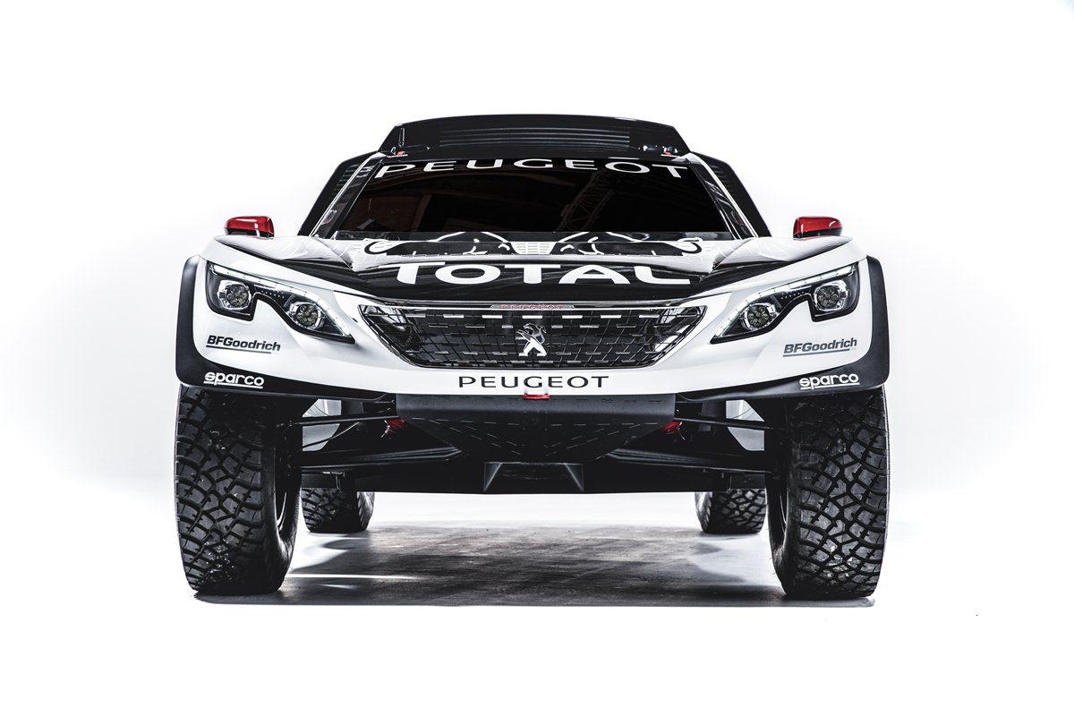 Nuova Peugeot 3008 DKR: pronta per la Dakar 2017