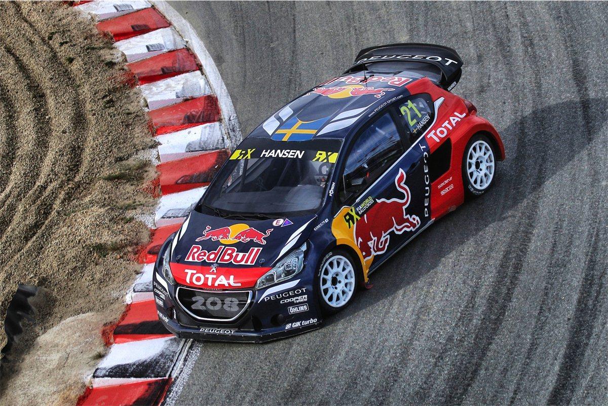 WRX: podio per Loeb e Peugeot nella gara di casa