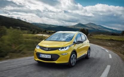 Opel Ampera-e: autonomia di oltre 400 km