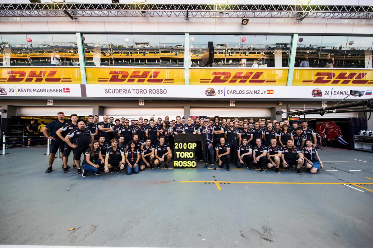 GP Singapore: ottime qualifiche per la Toro Rosso
