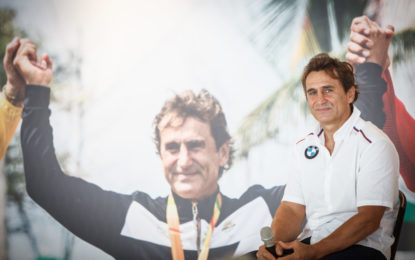 Alessandro Zanardi torna in pista con Sparco