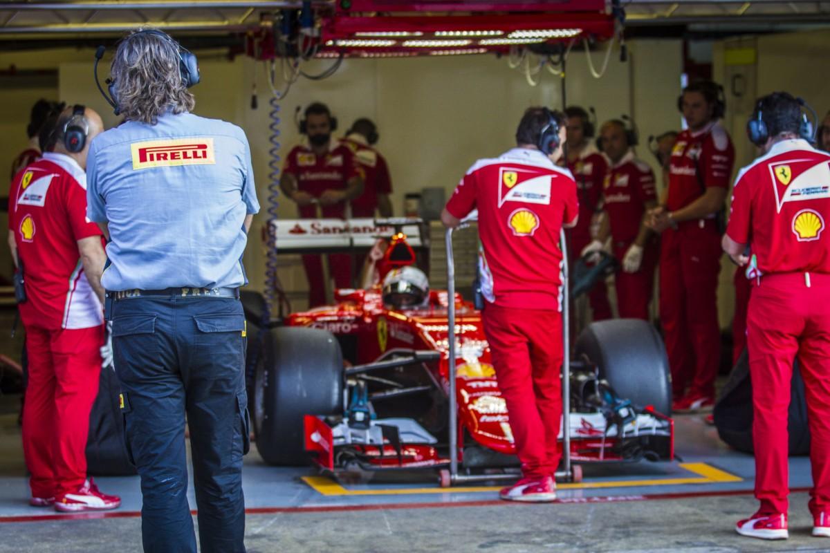 Pirelli conclude la due giorni di test con Ferrari