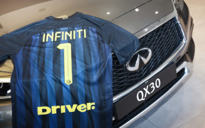 "INFINITI ""Official Car"" di F.C. INTERNAZIONALE"