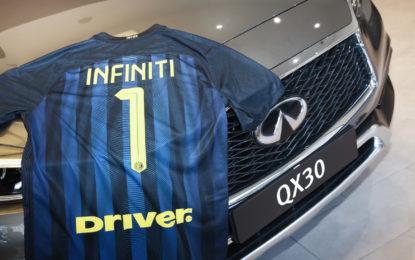 """INFINITI """"Official Car"""" di F.C. INTERNAZIONALE"""