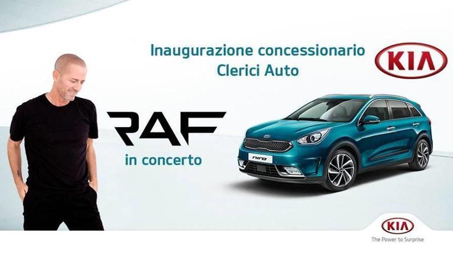 Kia Store Clerici di Milano: stasera inaugurazione con Raf
