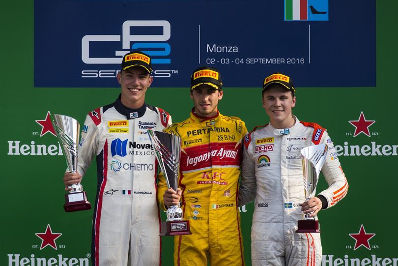 GP2: Giovinazzi e Marciello sul podio di casa