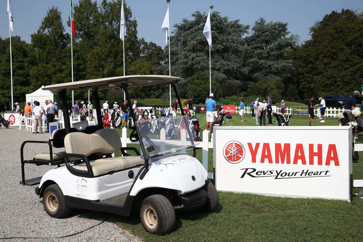 Yamaha sponsor degli Open d'Italia di Golf