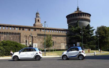 car2go: cresce la flotta milanese smart fortwo e forfour