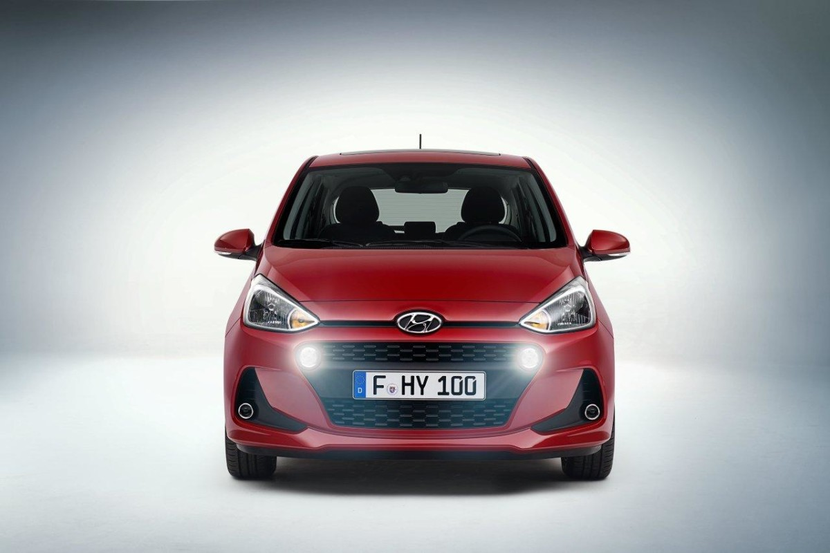 Nuova Hyundai i10 in anteprima
