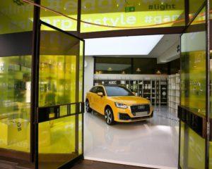 Audi Q2 alla Milano Fashion Week