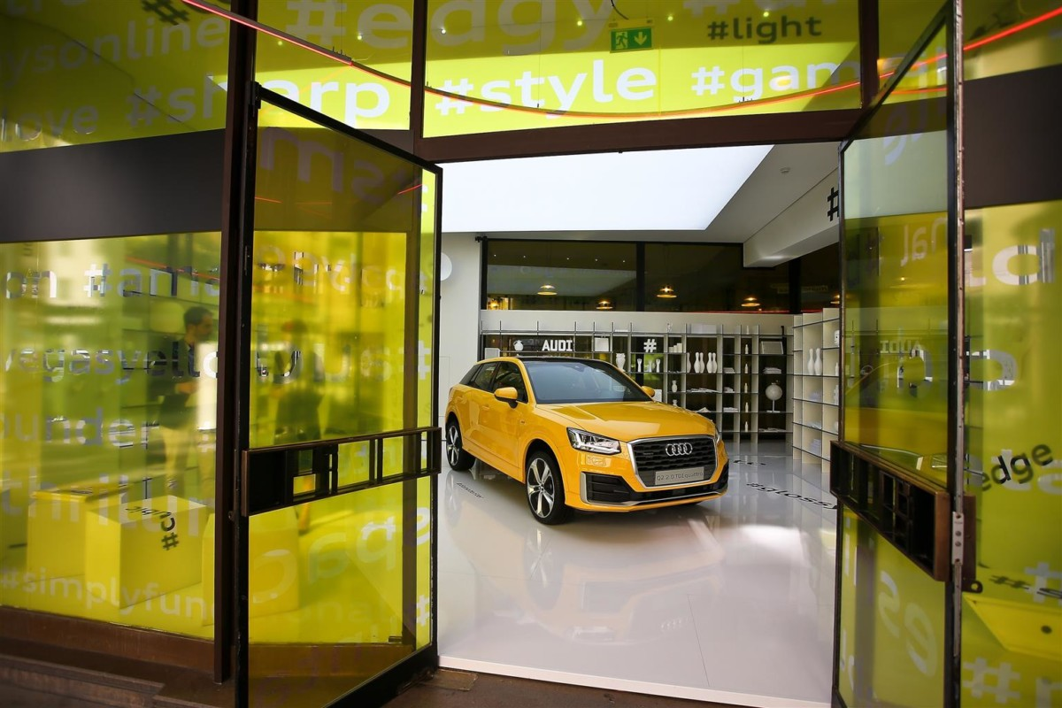 Audi Q2 alla Milano Fashion Week